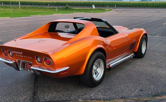 Corvettes for Sale: 1970 Corvette is a Tangerine Dream Machine