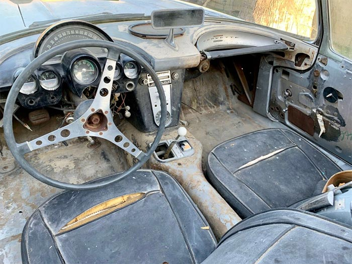 Corvettes for Sale: 1961 Corvette Barn Find Has an Interesting Back Story