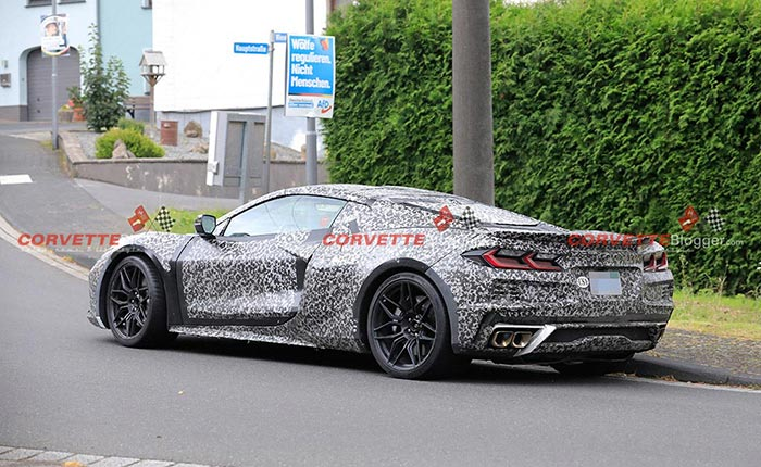 [SPIED] The C8 Corvette E-Ray Testing Outside the Nurburgring