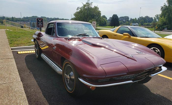Corvette Assembly Plant Director Kai Spande is Selling His 1966 Corvette 427