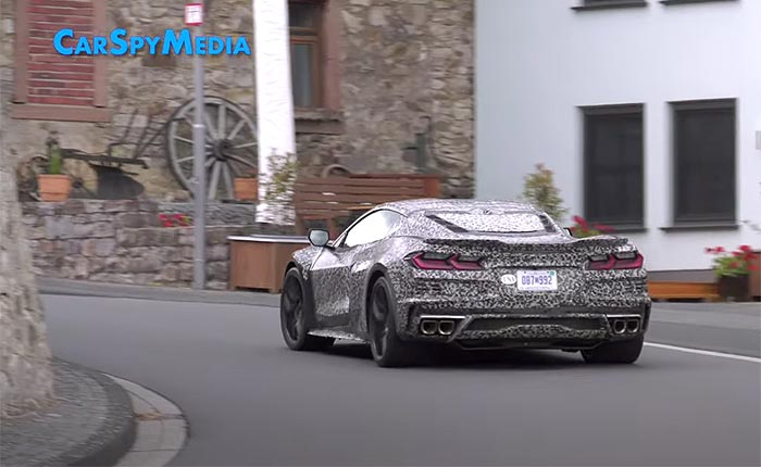 [VIDEO] The C8 Corvette E-Ray Testing On the Streets Around the Nurburgriung