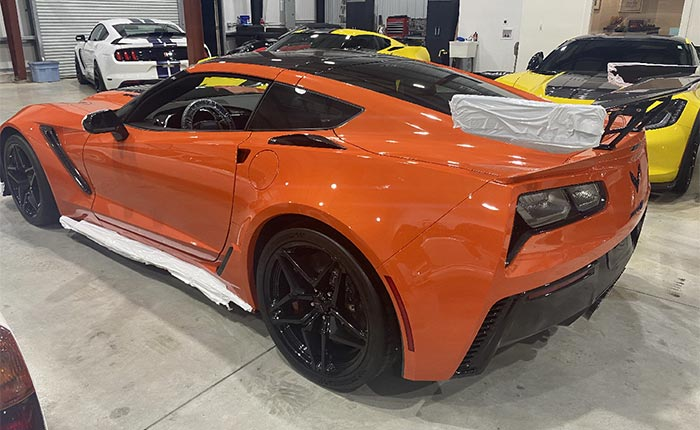 Corvettes for Sale: 2019 Corvette ZR1 with 13 Miles Offered for $289,900