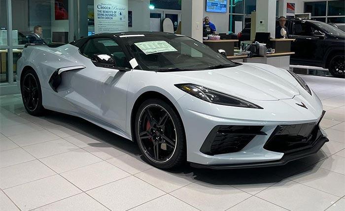 The Corvette Stingray Ranks Second on List of Fastest-Selling New Cars for September 2021