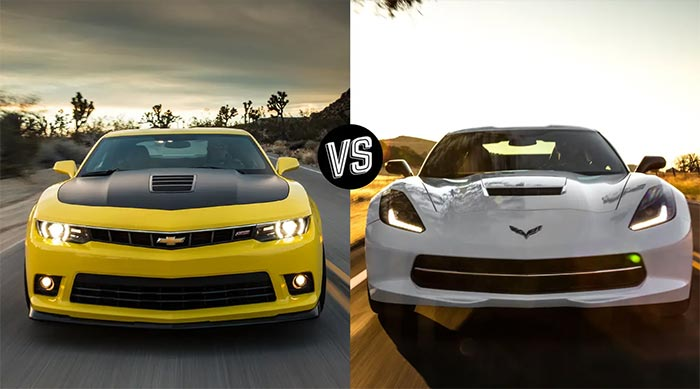 Sibling Rivalry: Camaro Vs Corvette