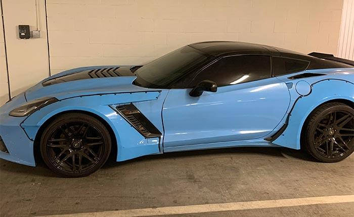 [PICS] C7 Corvette Z06 Shows Off Worst Body Kit Mod Ever