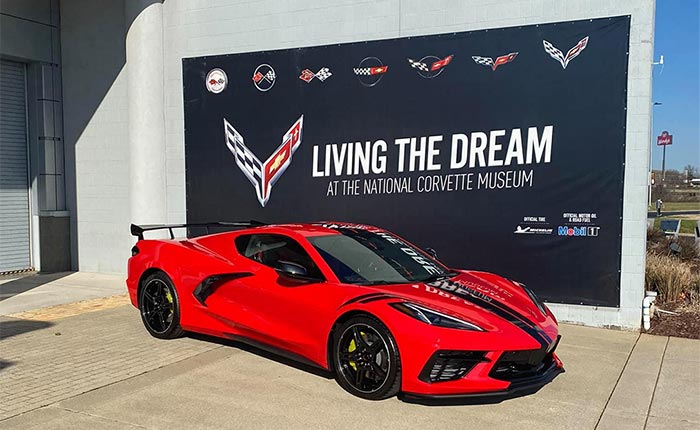 The First 2021 Corvette Wearing VIN 001 is Delivered at the National Corvette Museum