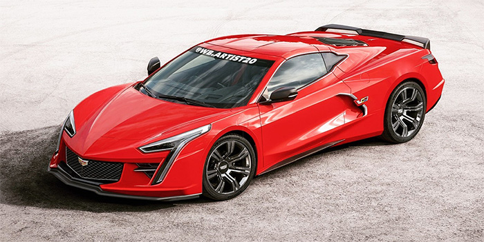 [PICS] Digital Artist Offers Rendering of a Mid-Engine Cadillac Sports Car