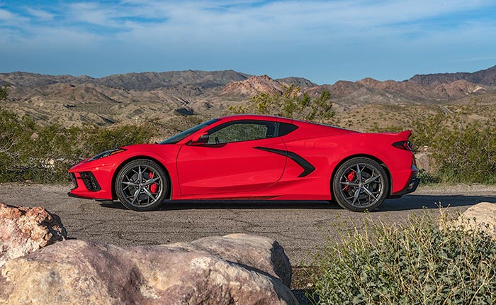 Motor Authority Names the C8 Corvette as its Best Car to Buy in 2021
