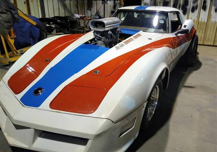 Corvettes on Craigslist: Nostalgic 1973 Corvette Drag Racer