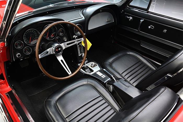'Real Deal' 1967 Corvette L71 427/435 Headed Barrett-Jackson Scottsdale