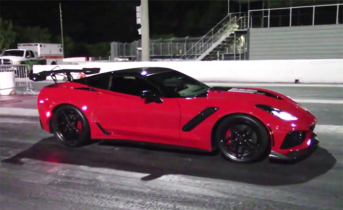 [VIDEO] Watch a 2019 Corvette ZR1 Run the Quarter Mile in 9.592 Seconds