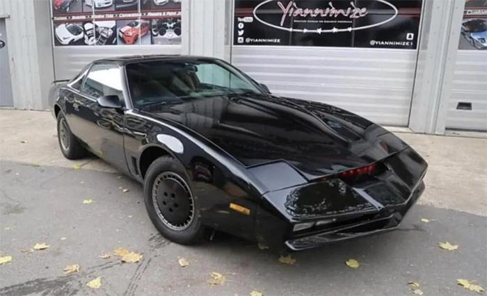 David Hasselhoff's personal KITT Car