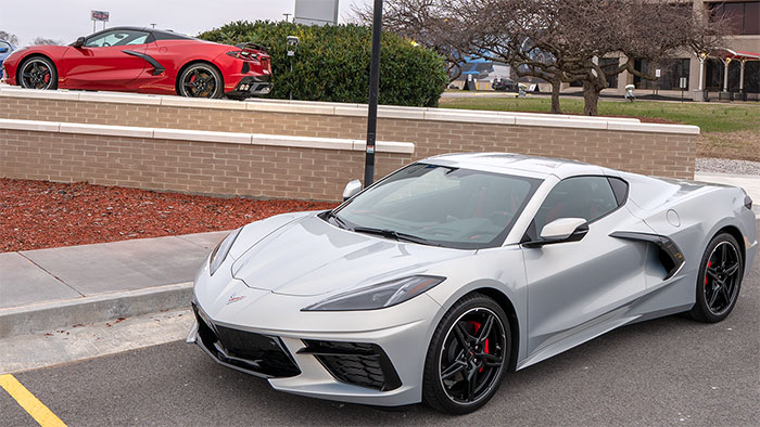 [VIDEO] 2021 Corvettes in Silver Flare and Red Mist Together at the Corvette Assembly Plant