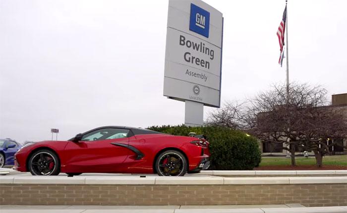2021 Corvette in Red Mist