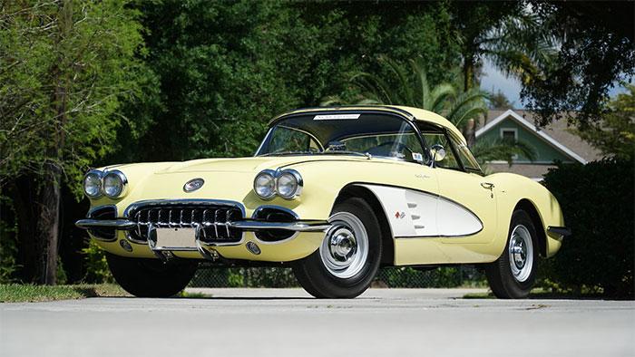 1958 Panama Yellow Big Brake Fuelie