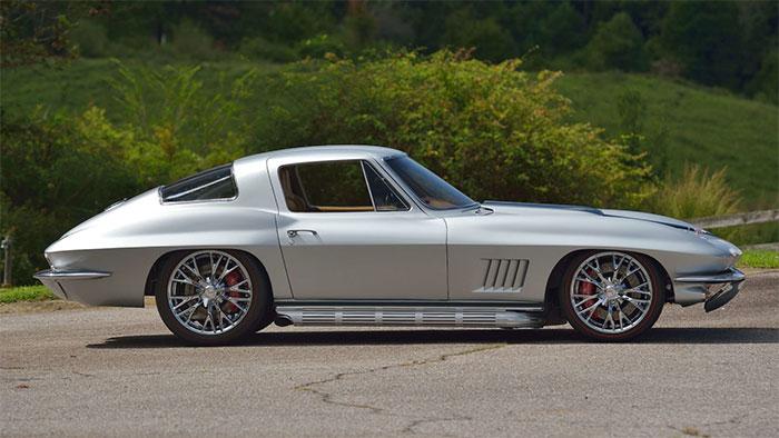 1967 Silver / Tan restomod coupe
