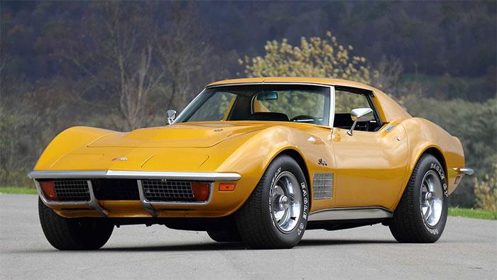 1972 Corvette Coupe VIN #1