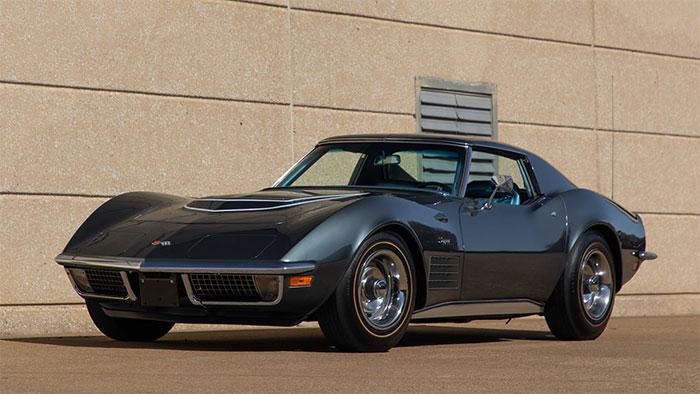 1970 Laguna Gray / Blue LT-1 coupe