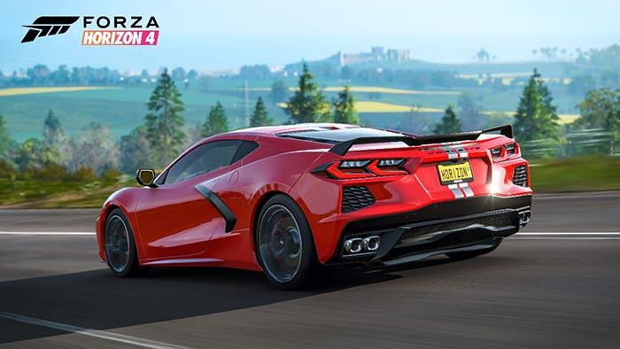 [VIDEO] C8 Corvette Stingray Joins Forza Horizon 4