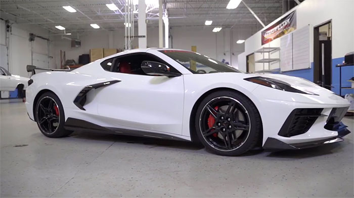 [VIDEO] Lingenfelter Introduces a Front End Lowering Kit for the C8 Corvette