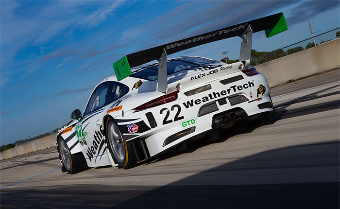 WeatherTech Racing to Campaign a Single Porsche 911 RSR in GTLM for 2021