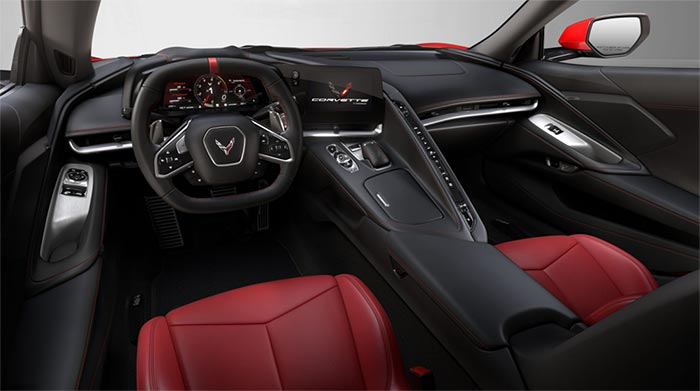 Motor Trend Reviews the 2020 Corvette Base 1LT Interior