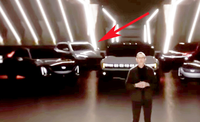 [VIDEO] An Electric SUV Concept with Corvette-ish Headlights is Shown During GM's CES Presentation