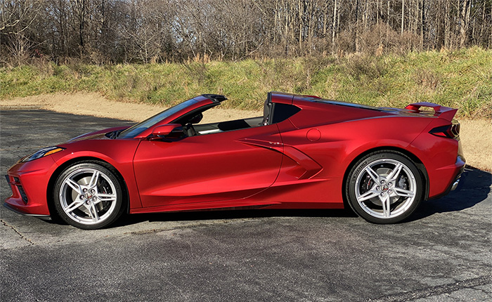 [VIDEO] Red Mist 2021 Corvette Is 'Explosively Beautiful' in the Sunshine