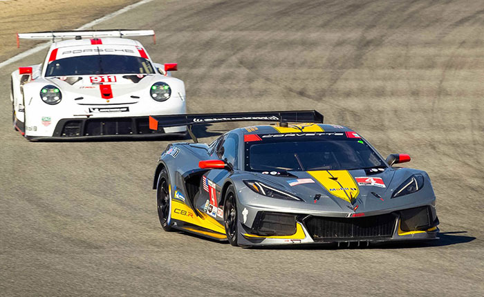 Nick Tandy Says the Corvette C8.R is 'More Stable' than the 'Edgy' Porsche 911 RSR