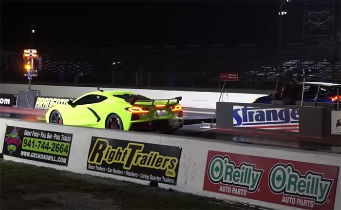 [VIDEO] 2020 Corvette vs Tesla and BMW at the Drag Strip