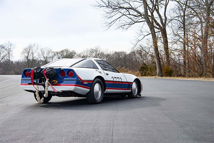 1984 Corvette Billed as World's Fastest Corvette is Donated to the National Corvette Museum