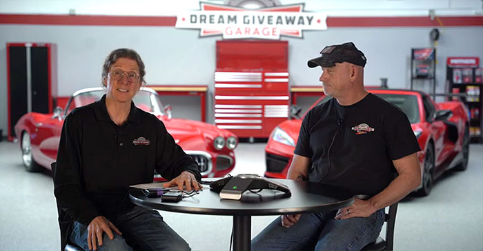 [VIDEO] Watch as the Corvette Dream Giveaway Makes the Call to the Grand Prize Winner