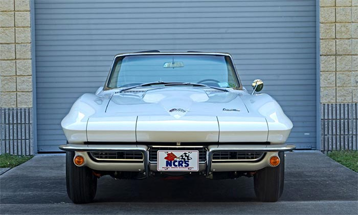 Win a 1966 Corvette Convertible with a 427/390 V8 and Factory Air