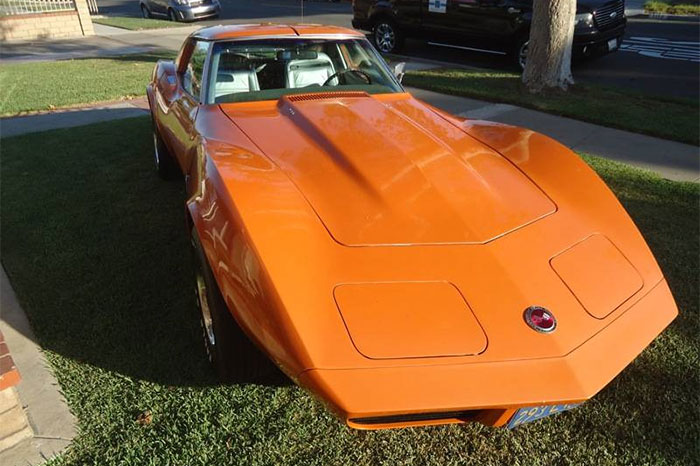 Corvettes on Craigslist: One-Owner 1974 Corvette 454 for $17,500