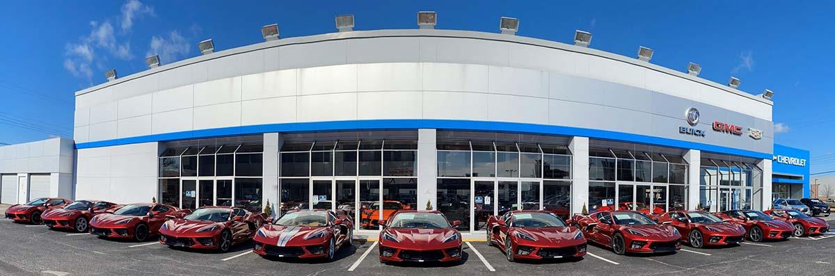 Red Mist 2021 Corvettes at Kerbeck
