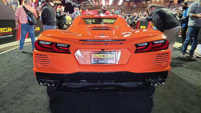 [VIDEO] Last 2020 Corvette is a No Sale at Mecum