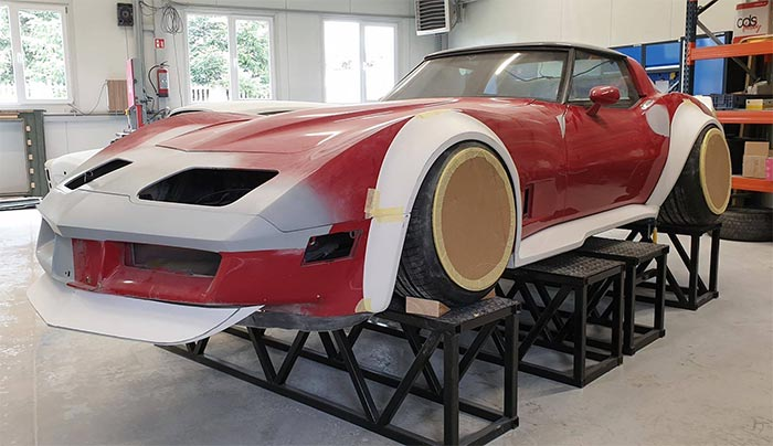[PICS] C3 Corvette Widebody Under Construction By Polish Tuning Shop