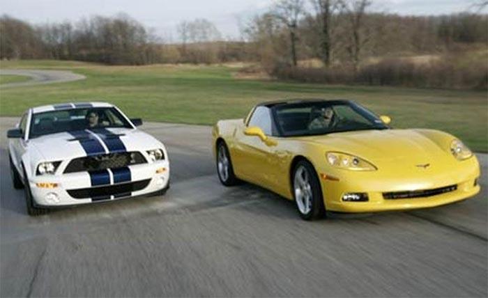 2007 Ford Mustang Shelby GT500 vs. 2006 Chevy Corvette