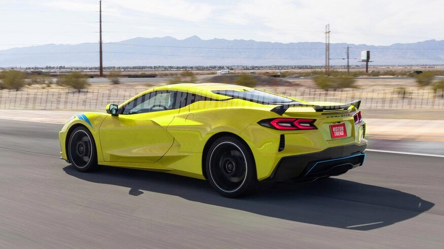 [PICS] Motor Trend Offers First Renderings of the C8 Corvette E-Ray