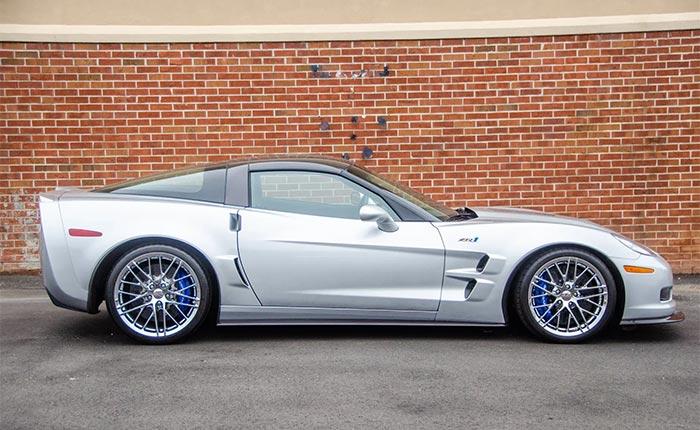 Corvettes for Sale: 2010 Corvette ZR1 with 1,100 Miles