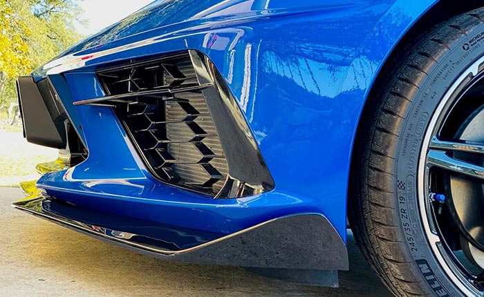 American Hydrocarbon Offers Custom OEM-Style Front Splitters For Your C8 Corvette