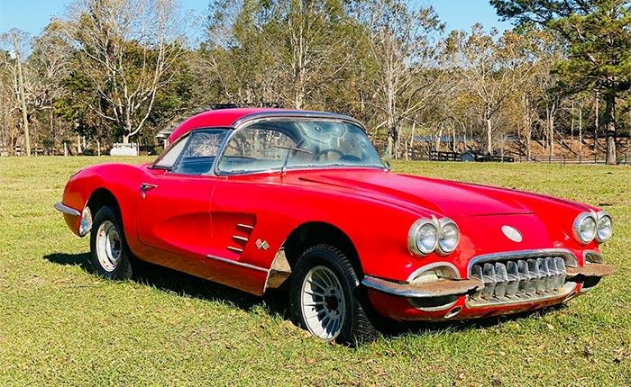 Corvettes on eBay: 1960 Corvette Features a Surprise Motor On Board