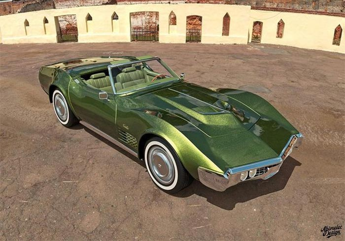 [PICS] C3 Corvette-Based Cadillac Roadster de Ville Rendering Answers the Question that Nobody Asked