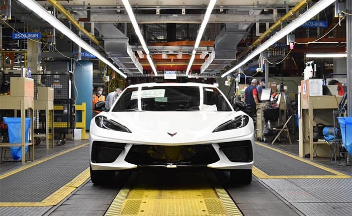 RUMOR: Corvette Assembly Plant to Shut Down Next Week Over Supply Issues