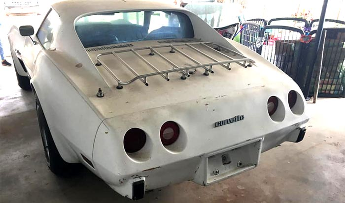 Corvettes on Facebook: Rode-Hard 1974 Corvette with Newly Built 350 V8