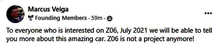 Dealer Rep Claims Reveal for the 2022 Corvette Z06 is Happening in July