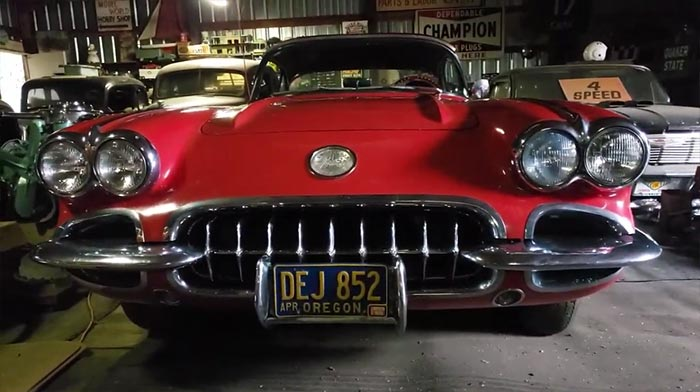 [VIDEO] Lost for Decades, the '59 Corvette From Animal House Is Now For Sale