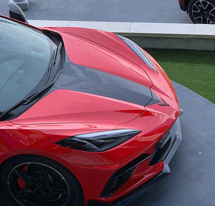 [PICS] Stingray R Package Shown on a 2021 Corvette at Daytona International Speedway