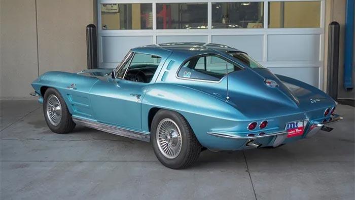 1963 Corvette Split-Window coupe