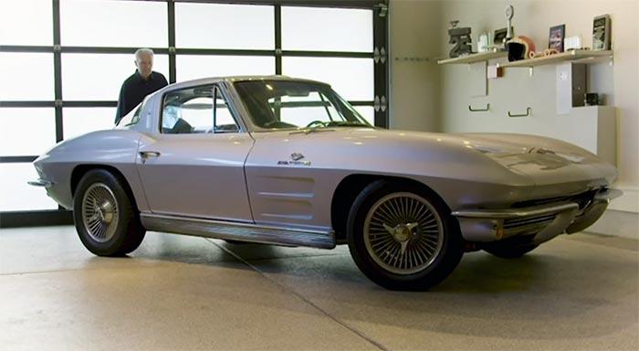 [VIDEO] Midyear Corvette EV Project Includes the C2's Original Designer Peter Brock